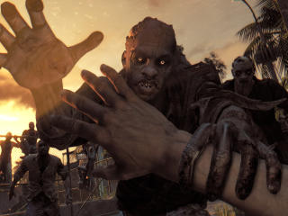 Dying Light, Zombie, Attack wallpaper