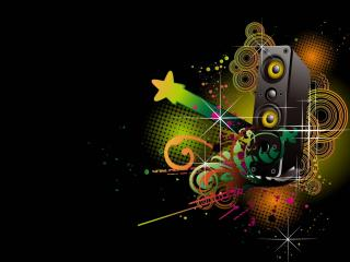 dynamics, stars, abstract wallpaper