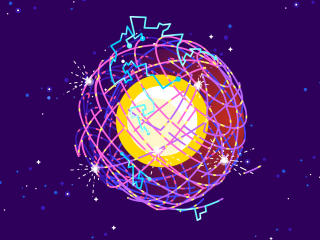 Dyson Sphere Digital Art wallpaper