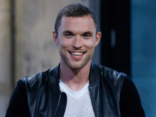 ed skrein, actor, smile wallpaper