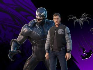 Eddie Brock Venom x Fortnite wallpaper