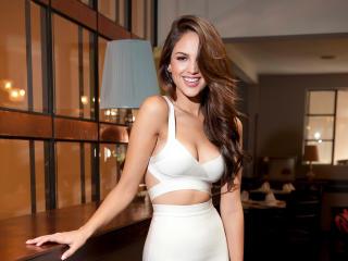 Eiza Gonzalez Photoshoot in White wallpaper