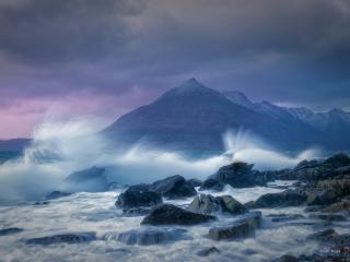 Elgol Isle of Skye Scottish Highlands wallpaper