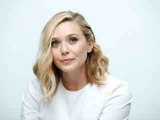 elizabeth olsen, actress, blonde wallpaper