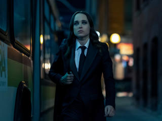 Ellen Page In The Umbrella Academy wallpaper