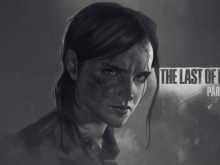 Ellie The Last Of Us Part 2 wallpaper