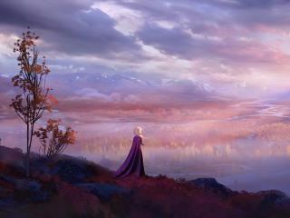 Elsa Cool Frozen 2 wallpaper