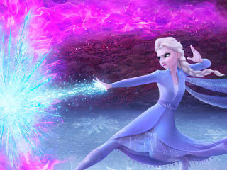 Elsa In Frozen 2 wallpaper