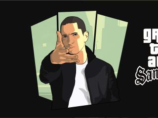 Eminem GTA San Andreas Art wallpaper