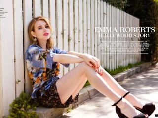 Emma Roberts Sexy 2014 Images wallpaper