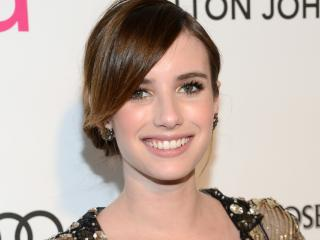 Emma Roberts Smile Pic wallpaper