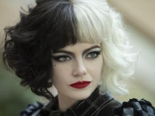 Emma Stone in Cruella Movie wallpaper
