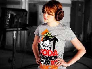 Emma Stone New Look Pic wallpaper