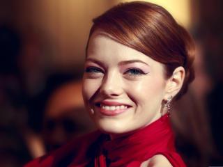 Emma Stone Pretty smile wallpaper wallpaper