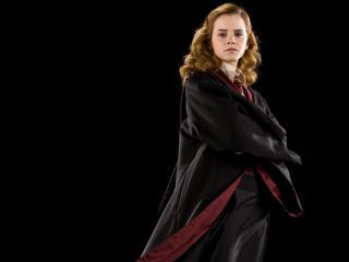 Emma Watson Black Nighty Pic wallpaper