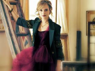 Emma Watson Black Suit Images wallpaper