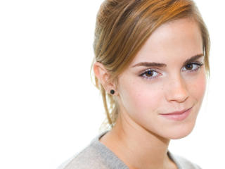 Emma Watson Brown Hair Style wallpaper