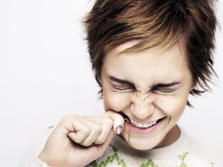Emma Watson Laughing Images wallpaper