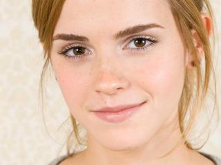 Emma Watson Sexy Smile 2014 wallpaper