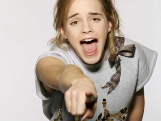 Emma Watson Shouting Images wallpaper