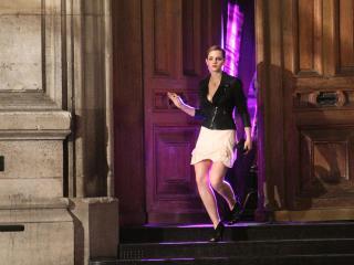 Emma Watson Skirt Pic wallpaper