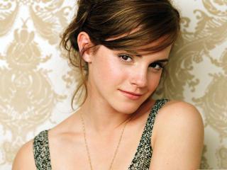 Emma Watson Smile Photo  wallpaper
