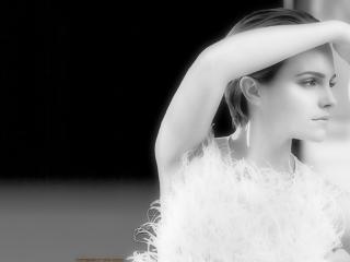 Emma Watson White Dress Pic wallpaper