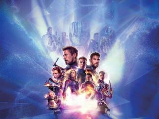 Endgame 4K 8K Poster wallpaper
