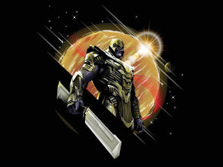 HD Wallpaper | Background Image Endgame Thanos Minimal