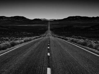 Endless Road wallpaper