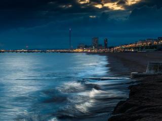 England City Beach Photography wallpaper