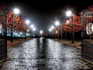 england, night, light wallpaper