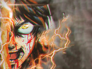 Eren Yeager In AOT wallpaper