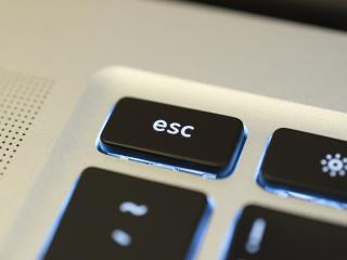 esc, keyboard, backlight wallpaper