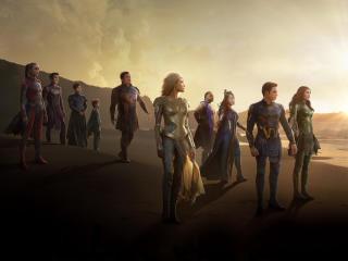 Eternals HD Movie 2021 wallpaper