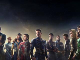 Eternals Movie All Cast wallpaper
