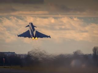 Eurofighter Typhoon Aircraft Warplane wallpaper