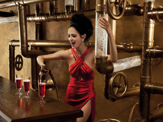 Eva Green Campari Calendar wallpaper