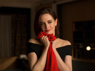 Eva Green Cute In Black 2017 wallpaper