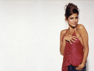 Eva Mendes In Red wallpaper