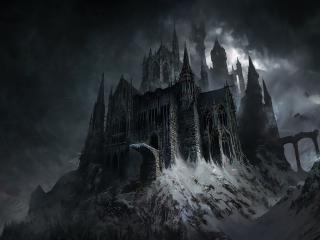 HD Wallpaper | Background Image Evil Castle Dark Fantasy