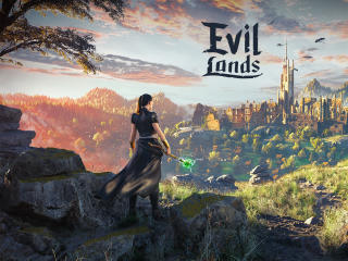 Evil Lands wallpaper