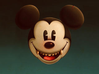 Evil Mickey Mouse wallpaper