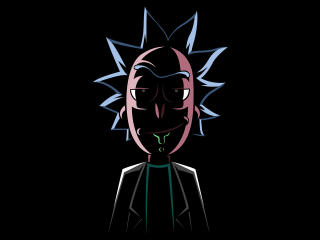 Evil Rick Sanchez wallpaper