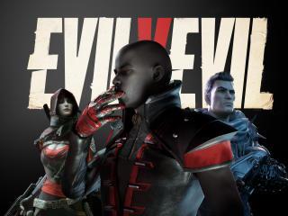 Evil v Evil Poster wallpaper