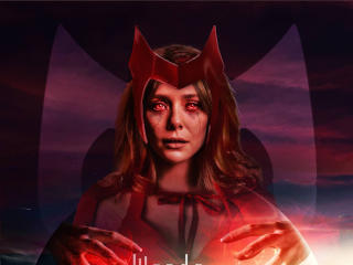 Evil Wanda Maximoff Poster wallpaper
