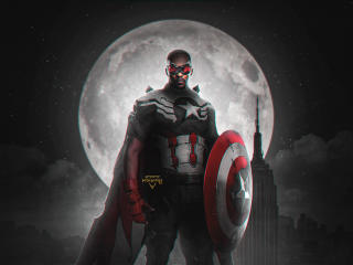 Falcon The New Captain America wallpaper