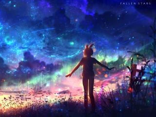 Fallen Stars 4K wallpaper