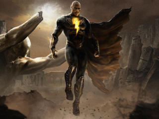 Fan Poster of Dwayne Johnson as Black Adam wallpaper