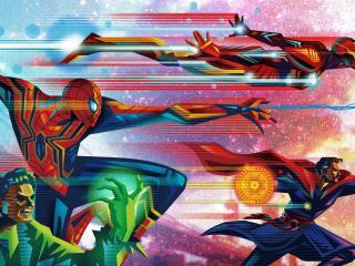 Fandango Avengers Infinity War Poster wallpaper